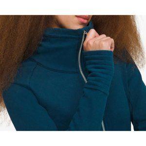 Lulu Radiant Jacket II Night Diver Teal Sweater 2